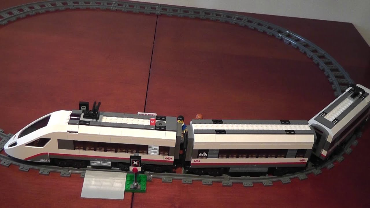 Unboxing Lego City 60051 Superszybki Pociąg Pasażerski Rozpakowanie