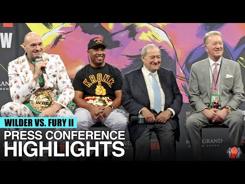 HIGHLIGHTS | DEONTAY WILDER VS TYSON FURY 2 POST FIGHT PRESS CONFERENCE