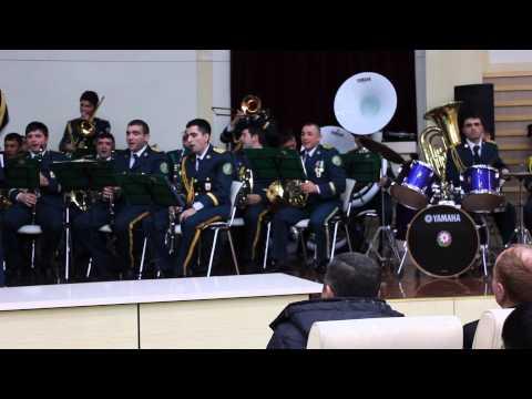 Gangam Style - Orchestra of the State Border Service of Azerbaijan Republic.