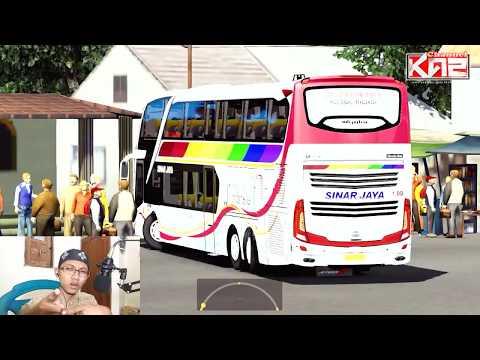 ets2 indonesia -- Sinar Jaya Mania new Armada - 동영상