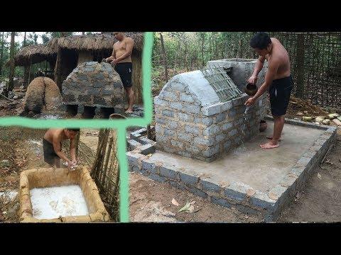 Primitive Life-Ancient Concrete-Next 3 months in the forest!