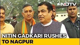 Nitin Gadkari's Sudden Flight To Nagpur As Time Runs Out In Maharashtra