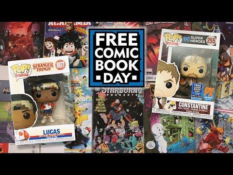 Free Comic Book Day Funko Pop Hunting