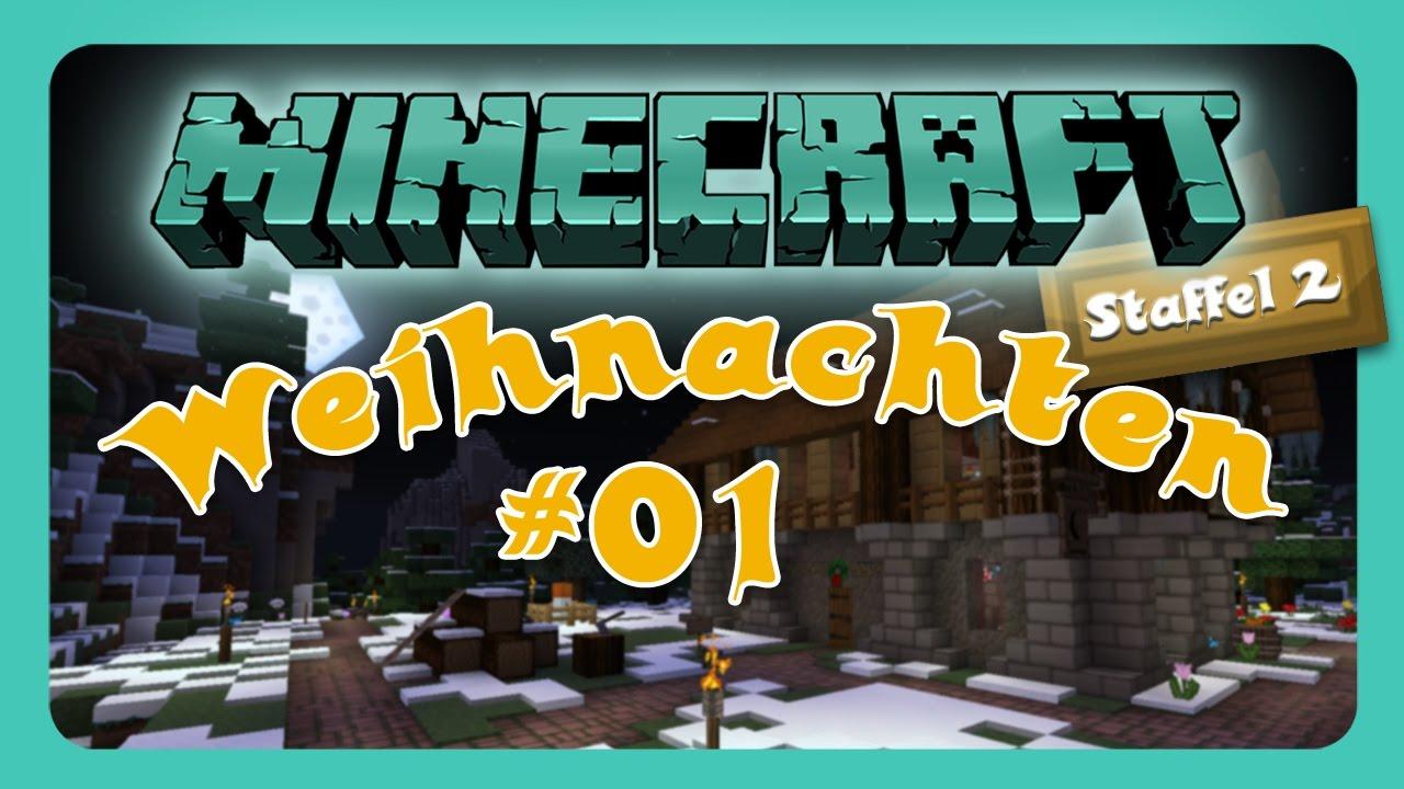 Minecraft Weihnachten || Auf zur Schnitzeljagd || #01 [German] [LPT ...