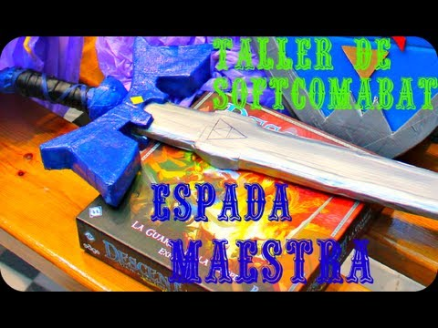 Taller de Softcombat - Espada Maestra (The legend of Zelda)
