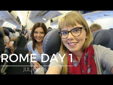 TRAVELLING, PANTHEON AND CREEPY UNDERGROUND WALK | Day 1 Rome Vlog July 2016 | Faraway Lisa Mae