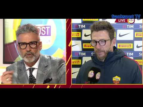 Inter Roma 1 1 INTERVISTE ROMATV EL SHARAWY,DI FRANCESCO,ALLISON Post gara 21 01 2018