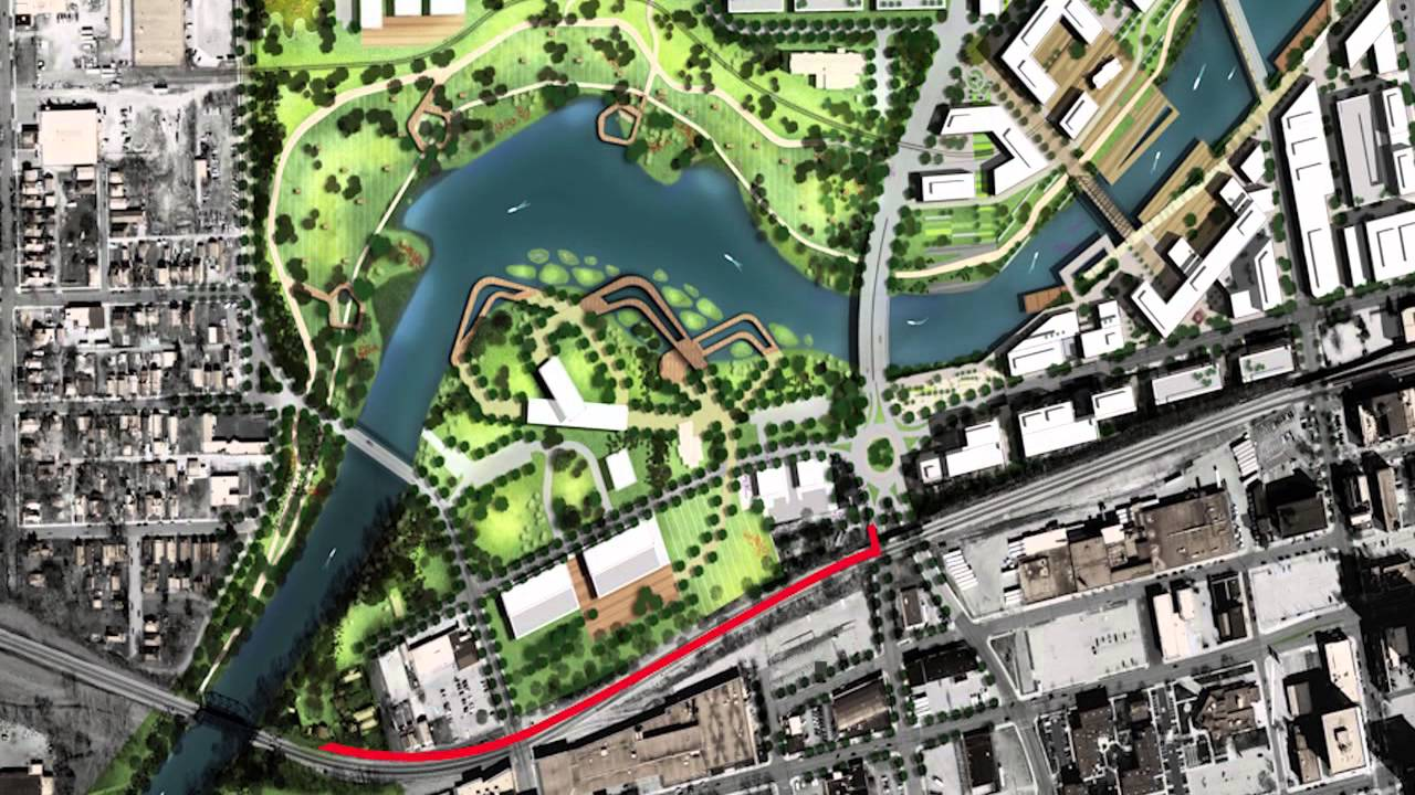20150204 City of Fort Wayne Riverfront Development Plan YouTube