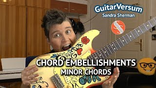 Guitar Lesson - Minor Chord Embellishments - Soul Guitar Fills