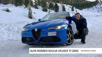 Alfa Romeo Giulia Veloce 2020: Review, Test, Fahrbericht