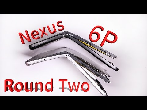 Nexus 6p is a joke! Round TWO - Why does it bend?