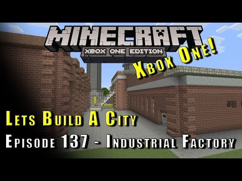 Minecraft :: Lets Build A City :: Industrial Factory :: E137