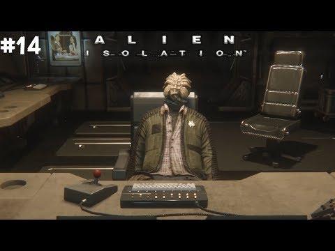Прохождение Alien Isolation #14   ХОРРОР   ДЕНЬ СМЕРТИ