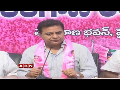 TRS Working President KTR Press Meet | ABN Telugu