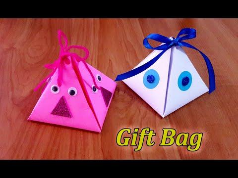 Amazing Pyramid Gift Bag--DIY--