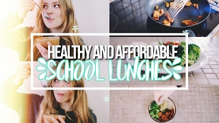 5 Healthy & Affordable Lunch Ideas For School!