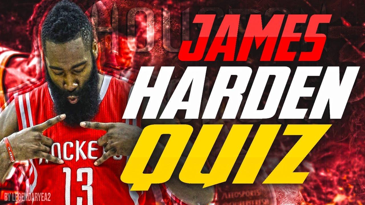 Epic James Harden Nba Quiz 🏀🤘🏾 Youtube