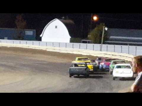 Kinser's feature...Lee County Speedway