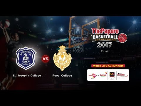 TPBC17 | Boys Finals | St. Joseph`s College v Royal College - Colombo