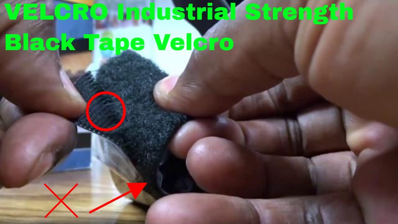 Download ✅  How To Use VELCRO Industrial Strength Black Tape Velcro Review