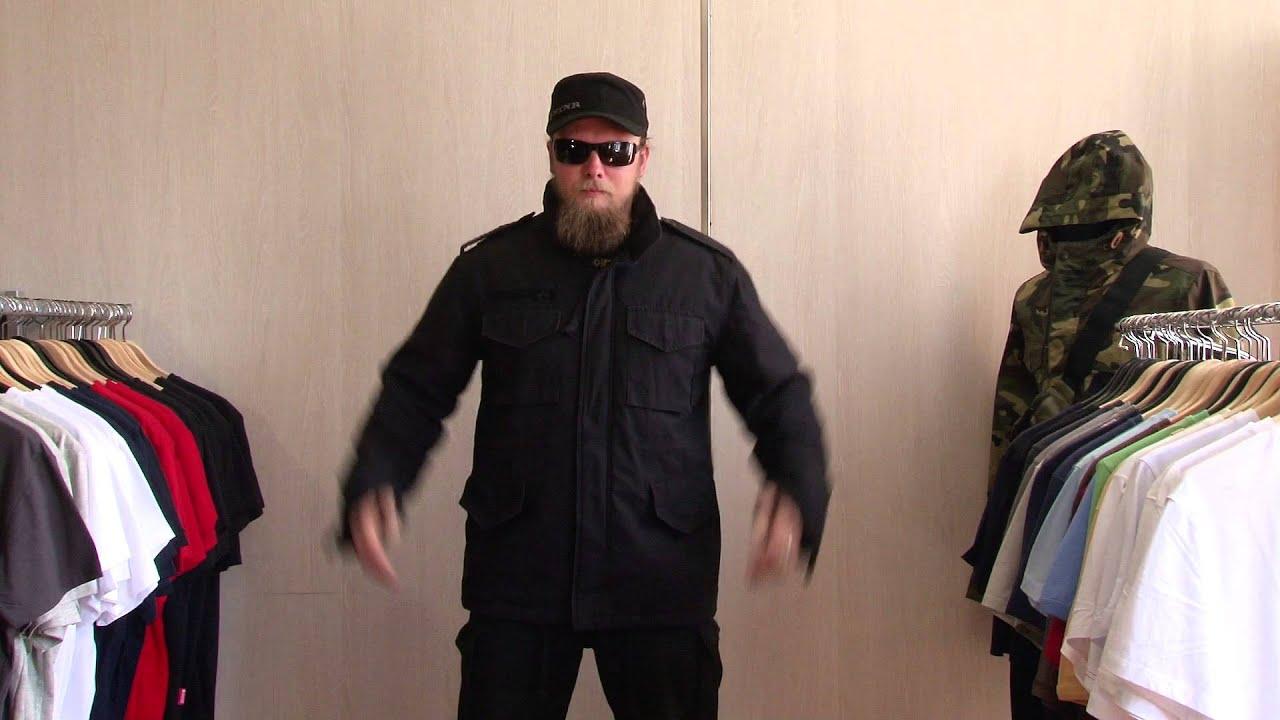 Куртка М65 Mil-Tec - обзор - YouTube