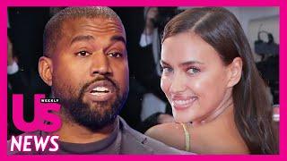 Kanye West Dating Bradley Cooper's Ex Irina Shayk Amid Kim Kardashian Divorce