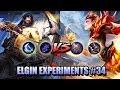 GOLDEN STAFF AND DEMON HUNTER SWORD VS BERSERKER FURY AND SCARLET PHANTOM   ELGIN EXPERIMENTS 34
