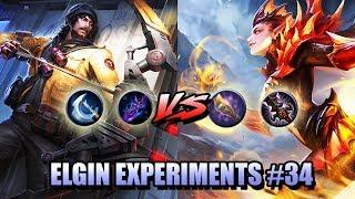 GOLDEN STAFF AND DEMON HUNTER SWORD VS BERSERKER FURY AND SCARLET PHANTOM - ELGIN EXPERIMENTS #34