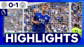Лестер Сити  0-1  Манчестер Сити видео