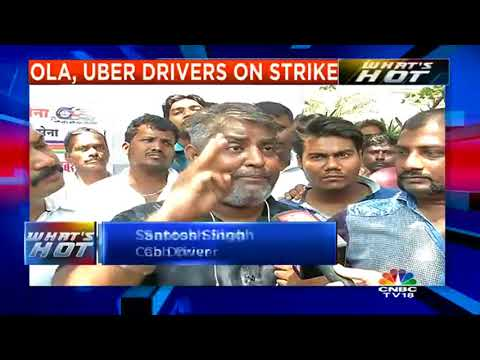 Ola, Uber Drivers Protest Against Low Earnings