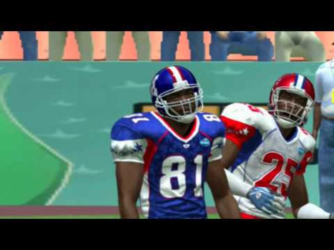 Madden NFL 08 PS3 Pro Bowl NFC  vs AFC video game