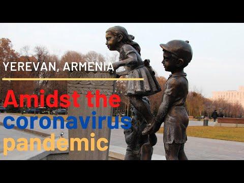 YEREVAN CITY WALK AMIDST CORONAVIRUS FEARS    Covid-19 Pandemic In Armenia   March 2020