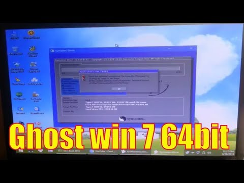 Hướng Dẫn Ghost Win 7 64bit Thật Đơn Giản