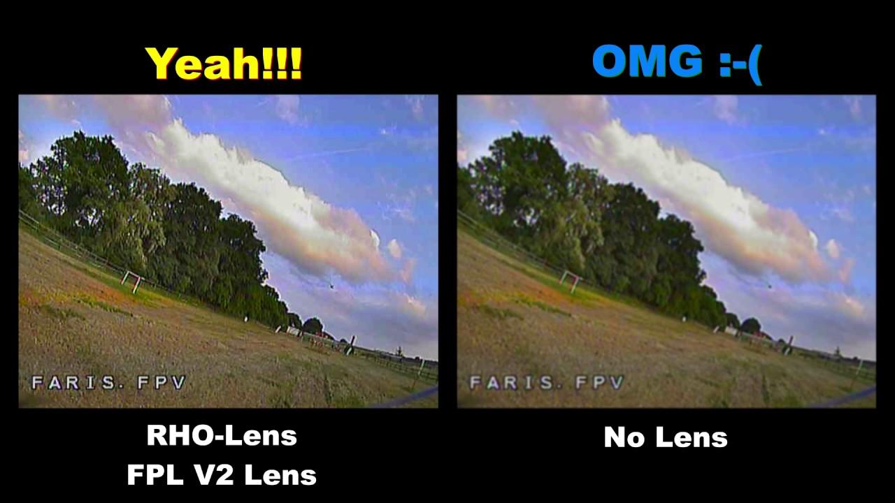 d3b9b884dff RHO-Lens FPL v2 - Fat Shark Prescription Lens - Test - YouTube