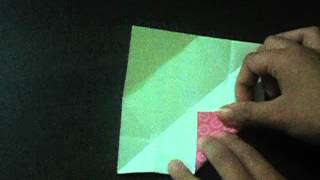How To Make An Origami Easy Bookmark