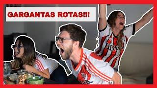 REACCION EPICA RIVER 3 BOCA 1 ⚪❤⚪ Final Copa Libertadores 2018   Mark Miranda
