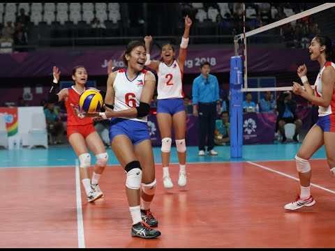 PH In 2018 Asian Women's Volleyball Cup