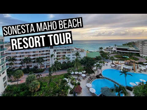 Sonesta Maho Beach Resort Tour St Maarten | Maho Beach