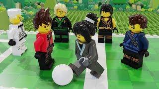 Lego Ninjago School - Play Soccer - Football Animation