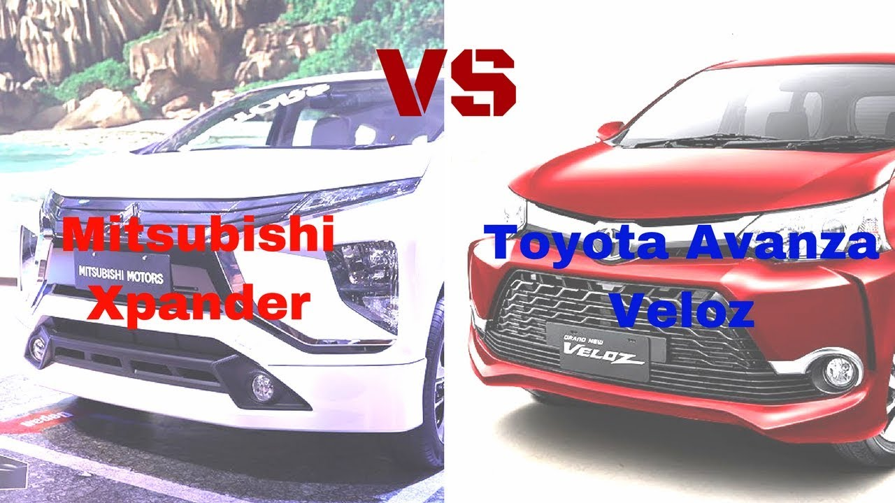 Grand New Avanza Vs Mitsubishi Xpander Biru Toyota Veloz Youtube