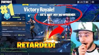 RETARDED KID TROLLS 15 YEAR OLD GIRL AND HIS FRIEND! TRY NOT TO LAUGH 98% FAIL XD | NOT CLICKBAIT