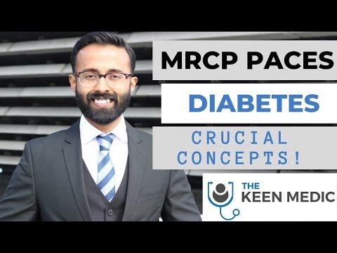 MRCP PACES Diabetes Crucial Concepts!