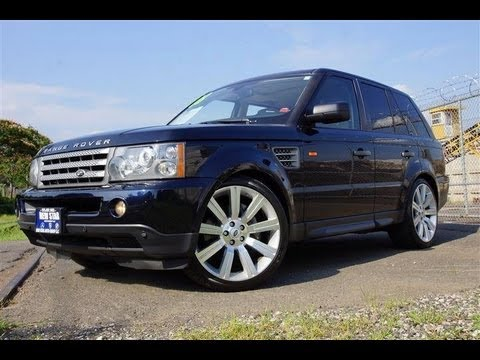 2008 land rover range rover sport supercharged 22 inch wheels youtube. Black Bedroom Furniture Sets. Home Design Ideas