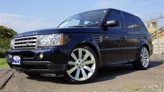 2008 Land Rover Range Rover Sport Supercharged 22 inch Wheels