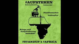 #Aufstehen & #Seebrücke - Internationale Solidarität mit #Afrika #Standup