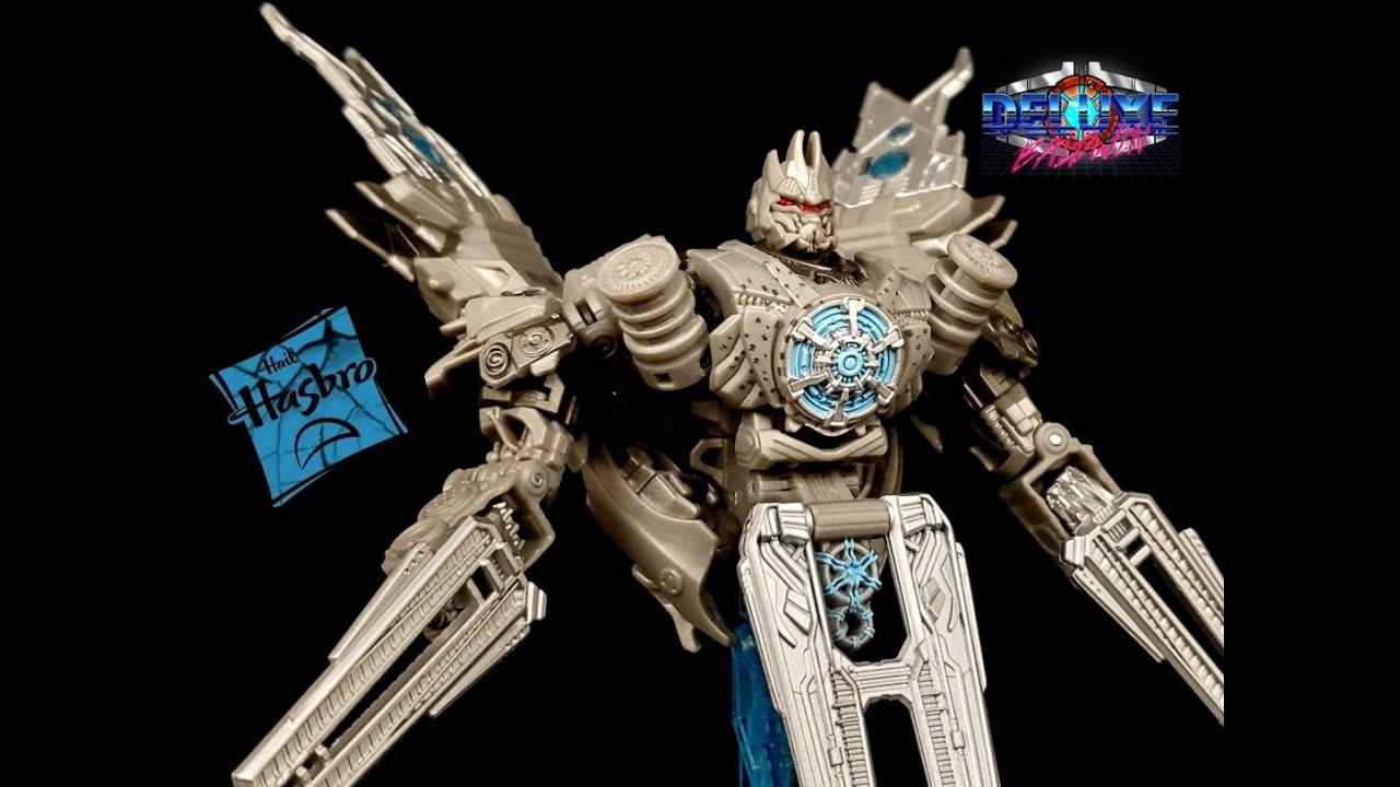 Transformers Studio Series SS-62 ROTF Soundwave Review by Deluxe Baldwin