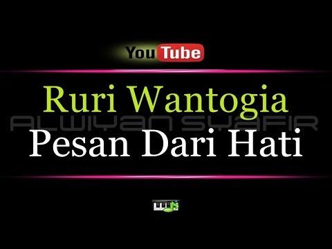 Karaoke Ruri Wantogia - Pesan Dari Hati (feat  Cynthia Ivana)