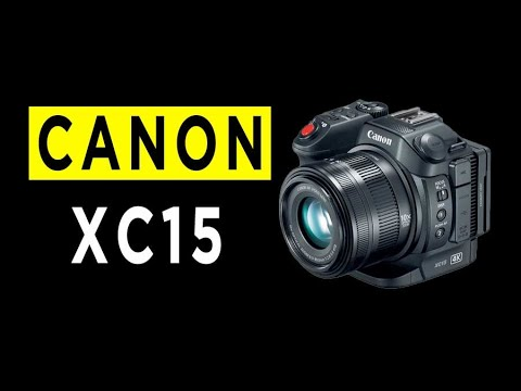 Canon XC15 Highlights & Overview -2021