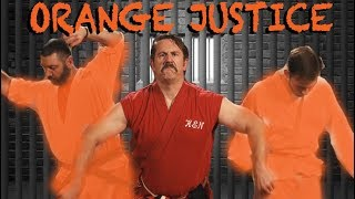 Master Ken teaches Orange Justice Dance