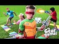 THE GEAR GAME! (Teenage Mutant Ninja Turtles Edition) | KIDCITY
